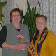 Inke Carstensen-Klatt, seit Februar im Amt, wird begrüßt.