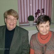 Frau Hilde Zeugner und Frau Erika Carstensen von der Husumer Tafel