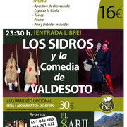 Los Sidros y la Comedia de Valdesoto