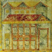 Pinturas prerrománicas / El Sabil. Senda del Oso.