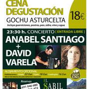 Anabel Santiago y David Varela