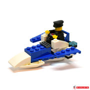 Blocks World Happy Paradise K15A-4 Police Boat (C)
