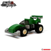 Blocks World Pull Back Block Car (K27A-9)