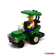 Blocks World Happy Paradise K15A-5 Farm Tractor (A)