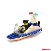 Blocks World Happy Paradise K15A-4 Police Boat (A)