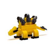Blocks World Dinosaurs  (Stegosaurus) ブロックワールド恐竜シリーズ(ステゴサウルス)