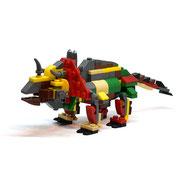 Blocks World Dinosaurs  (Tyrannosaurus) ブロックワールド恐竜シリーズ(ティラノサウルス)