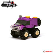 Blocks World Pull Back Block Car (K27A-2)