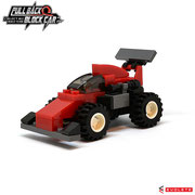 Blocks World Pull Back Block Car (K27A-10)