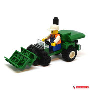 Blocks World Happy Paradise K15A-5 Farm Tractor (B)