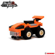 Blocks World Pull Back Block Car (K27A-11)