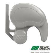 ERHARDT Markisen: Halbcassettenmarkise Typ ERHARDT TS SILBER RAL 9006