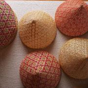 職人さんが編んだ、美しい虫よけカバー籠。