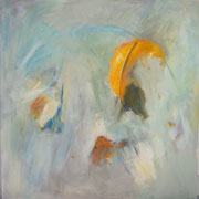o.T., 150x150 cm, Acryl auf Leinwand (23)