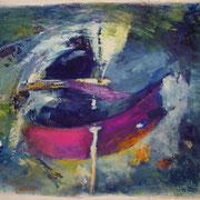 o.T., 130x215 cm, Acryl auf Leinwand (20)