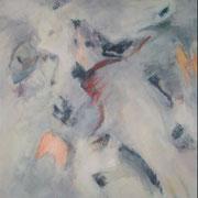 o.T., 150x120 cm, Acryl auf Folie (50)