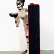 réplica de momia