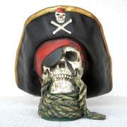 réplica cráneo pirata