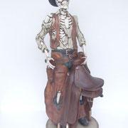 réplica esqueleto cowboy