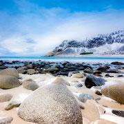 Lofoten Winter - Steinstrand