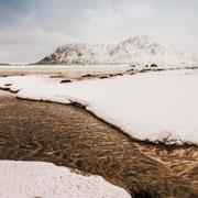Lofoten Winter - Strand