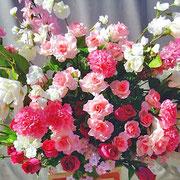¥10000 119x176x34 モデルハウス竣工祝アートフラワースタンド花