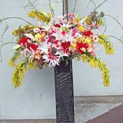 ¥15000 192×220x49 特別スタンド花