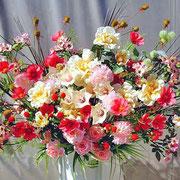 ¥10000 106x172x38 モデルハウス竣工祝アートフラワースタンド花