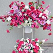 ¥15000 124x178x31 開店祝アートフラワースタンド花