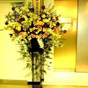 ¥60000 140x210x60 リニューアルオープン祝スタンド花(特別スタンド)