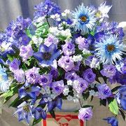¥10000 118x169x34 モデルハウス竣工祝アートフラワースタンド花