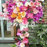 ¥15000 97x172x43 出演祝アートフラワースタンド花