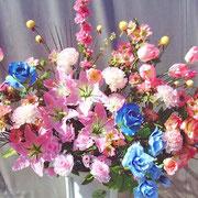 ¥10000 106x182x34 モデルハウス竣工祝アートフラワースタンド花