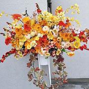 ¥21000 134x187x43 開店祝造花スタンド花