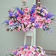 ¥15000 131x183x32 開店祝アートフラワースタンド花