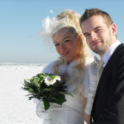 Die ukrainischen Brautpaare