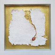"""""""The key to your heart I"""" 35 x 35 cm, Erinnerung an Oma-key! Auftragsarbeit für die Nachkommen einer Überlebenden des Holocaust."""