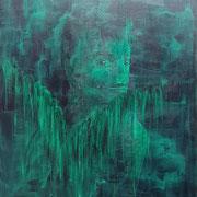 """""""Der Augenblick"""", Acryl auf Leinwand, 100 x 80 cm"""