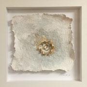 """""""Eheringe"""", 35 x 35 cm, Ein Ehepaar, verbunden für die Ewigkeit."""
