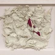 """""""Die letzte Brille"""", 35 x 45 cm, rosarot in die Wolken geschickt."""
