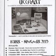Gazette #02 : Octobre - Novembre 2005