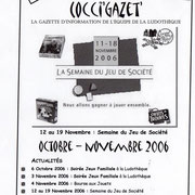 Gazette #08 : Octobre - Novembre 2006