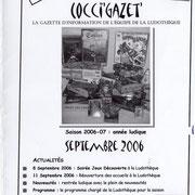 Gazette #07 : Septembre 2006