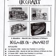 Gazette #09 : Décembre 2006 - Janvier 2007