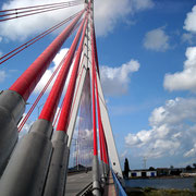 Hängebrücke in Polen
