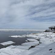 La vue sur le golfe de Finlande
