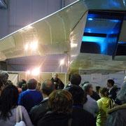 Aperitif  for exhibitors organized by the museum director Gérard Feldzer