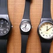 アラビア数字腕時計