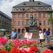 Gendarmeriehaus (Rechte: Medienzentrum Hanau).