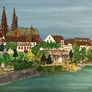 'Basilea' Acrylgemälde